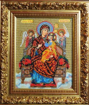 Богородица Всецарица.  Чудесная сила иконы Богоматери